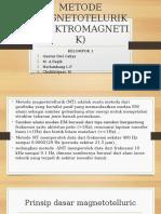 Metode Magnetotelurik dengan menggunakan alat ADU 07 e-Metronix - MT