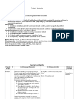 Proiect Didactic Relatii Concurente