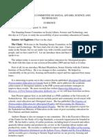 TranscriptSocialAffairsCommitteeMarch31-2010