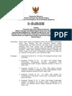 3 Skb Nomor 459kmk031999 Dan Nomor Kep 264ket091999 Tentang Perubahan Atas Surat Keputusan Bersama Menteri Keuangan Dan Menteri Negara Perencanaan Pembangunan Nasionalketua Bappe 130418041646 Phpapp01