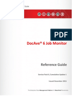 Job Monitor Reference Guide