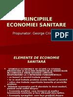 Principiile economiei sanitare