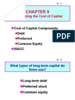 cost of caoital tutorial