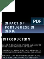 Impact of Portuguese in India