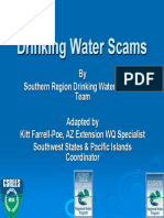 DrinkingWaterScams-HotlineTraining