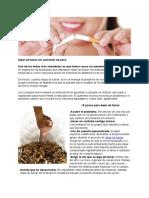 15 Pasos Para Dejar de Fumar