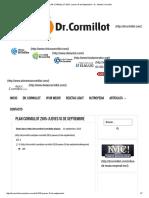 PLAN CORMILLOT 2015_ Jueves 10 de Septiembre - Dr