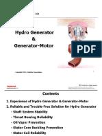 Hydro Generator and Generator-Motor 201407