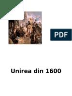 Unirea Din 1600 Poster