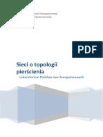 Badanie Sieci o Topologii Pierścieniowej