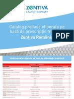 Catalog Produse Zentiva RX