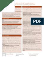 Davidpol Tidal Model of Mental Health Nursing