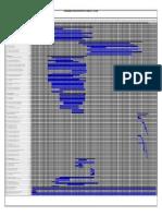 Cronograma de Construccion Proyecto Caracollo - Colquiri