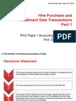 HirePurchaseAndSaleTransactionsPart1
