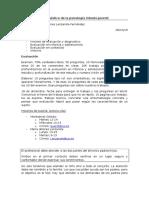 Evaluación y Diagnóstico de La Psicología Infanto