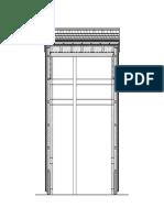 pavillion wood facade wood shingles section 1