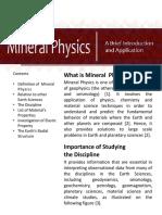 Mineral Physics Module
