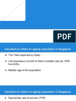 Aging population in Singapore