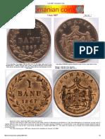 Catalog Monede România - 25.07.2015