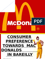 McD Project Ppt