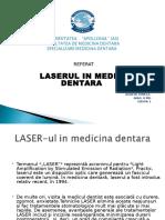 LASERUL-ul in medicina dentara.ppt