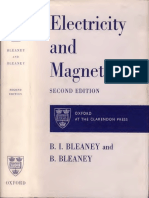 Bleaney - Electricity and Magnetism 2ndEd