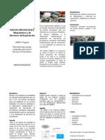 Folletos: Programas de Comercio Exterior. México