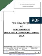 Lighting Fixture DETAILED REPORT