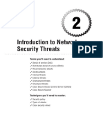 INTRODUCTION TO NETWORK SECURITY THREATS