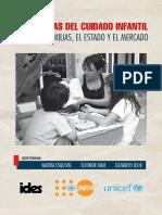 Las Lógicas Del Cuidado Infantil. Entre Las Familias El Estado y El Mercado.1