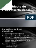 Alte Subiecte de Drept InternaLŤional 2014
