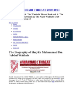 The Wahhabi Threat 2010