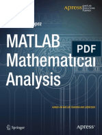 MATLAB Mathematical Analysis [2014]