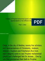 Debate of Prophet Muhammad With Jews