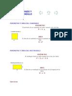 #19 Perímetro, Área Y Volumen
