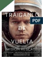 The Martian (Marte) Press Book