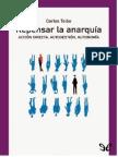 Repensar La Anarquia - Carlos Taibo