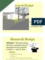 Resech Design 2009
