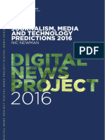 Journalism, Media & Technology Predictions 2016
