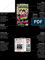 Magazine Front Cover and Contents Page Analysis
