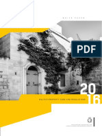 Malta Property Regulation White Paper