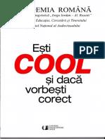 Esti COOL si daca vorbesti corect- Academia Romana.pdf