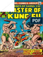 Shang-Chi Master of Kung Fu 25 Vol 1