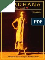 Aradhana Year 01 Issue 01 2012 Jan Feb en Online