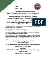 Maties Schools Swim Program January 2016 - Rhenish Primary Final