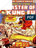 Shang-Chi Master of Kung Fu 38 Vol 1
