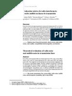 Evaluación Teórica de Radio Interferencia y Ruido Audible en Líneas de Transmisión