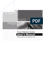 Manual Pabx Cps-pl