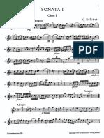 Zelenka - Trio Sonata No. 1 (2 Oboes y Fagot)