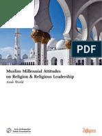 Muslim Millennial Attitudes.